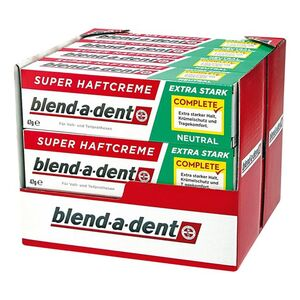 Blend-a-dent Super-Haftcreme Neutral 47 g, 12er Pack