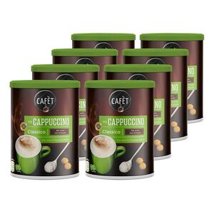 Cafet Cappuccino Classico 200 g, 8er Pack