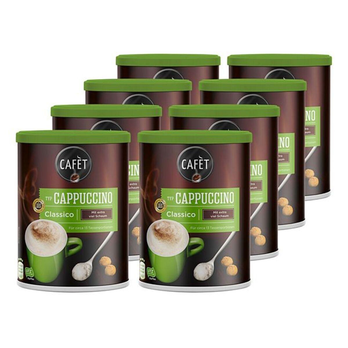 Bild 1 von Cafet Cappuccino Classico 200 g, 8er Pack