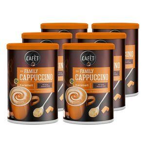 Cafet Cappuccino Caramel 500 g, 6er Pack