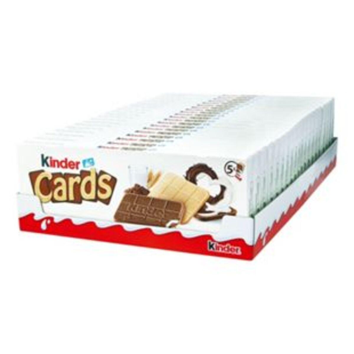 Bild 2 von Ferrero Kinder Cards 128 g, 20er Pack