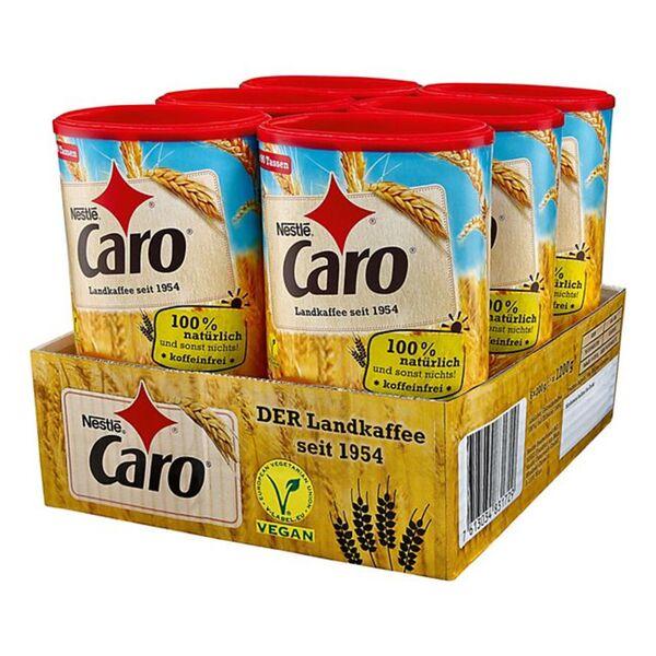 Nestle Caro Kaffee 200 g, 6er Pack