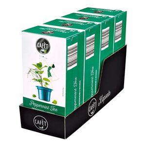 Cafet für Cremesso Pfefferminz Tee 33,6 g, 4er Pack