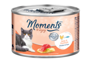 MOMENTS Adult 6x140g Huhn & Thunfisch