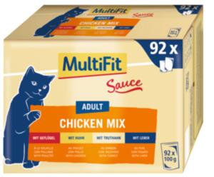 MultiFit Adult Chicken Mix Multipack XXL 92x100g
