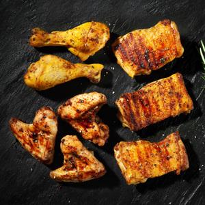 Chicken Schmiede Premium Grillplatte