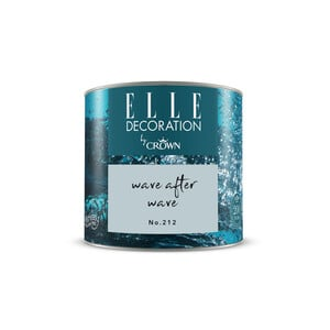 ELLE Decoration by Crown Premium Wandfarbe 'Wave After Wave No. 212' 125 ml