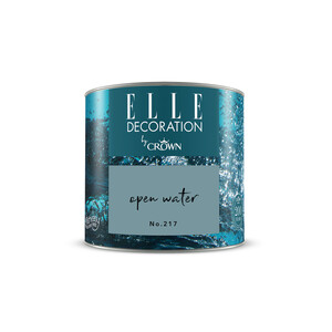 ELLE Decoration by Crown Premium Wandfarbe 'Open Water No. 217' 125 ml