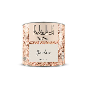 ELLE Decoration by Crown Premium Wandfarbe 'Flawless No. 527'  125 ml