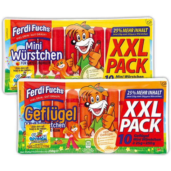 Ferdi Fuchs Mini Würstchen XXL