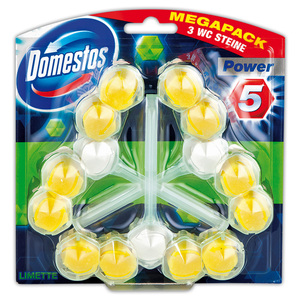 Domestos WC Steine Power 5 Trios