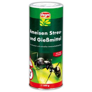 Degro Ameisen Streu- und Gießmittel