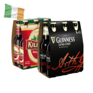 Guinness Extra Stout oder Kilkenny Irish Beer