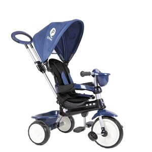 QPLay Dreirad Comfort 4 in 1 Dark Blue