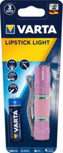 Varta - LED Taschenlampe - Lipstick Light - pink