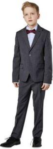 Kinder Anzug, Slim Fit grau Gr. 170 Jungen Kinder