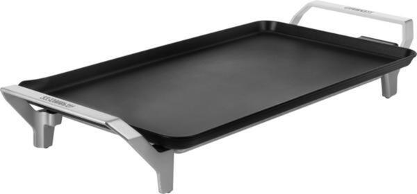 Princess Table Chef Premium XL Elektro Grill mit manueller Temperatureinstellung  Silber (matt), Schwarz
