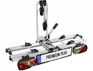 LAS Fahrradträger Premium Plus ,  für 2 Fahrräder, komplett vormontiert