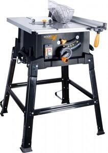 Scheppach Tischkreissäge ST110 ,  Inklusive Sägeblattschutz, Querschneidlehre und Längsanschlag