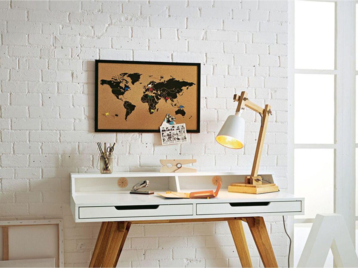 Bild 5 von Pureday Pinnwand Weltkarte - Mit 6 Markierfähnchen