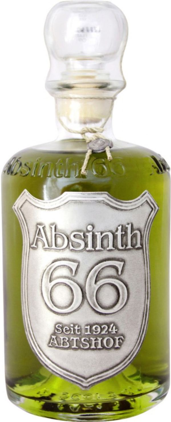 Abtshof Absinth 66% in Apothekerflasche 0,5 ltr