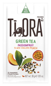 Ti Ora Green Tea Passionsfruit & New Zealand Peach 15x 2 g