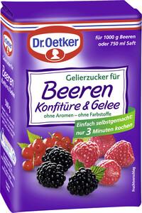 Dr.Oetker Gelierzucker für Beerenkonfitüre 500 g