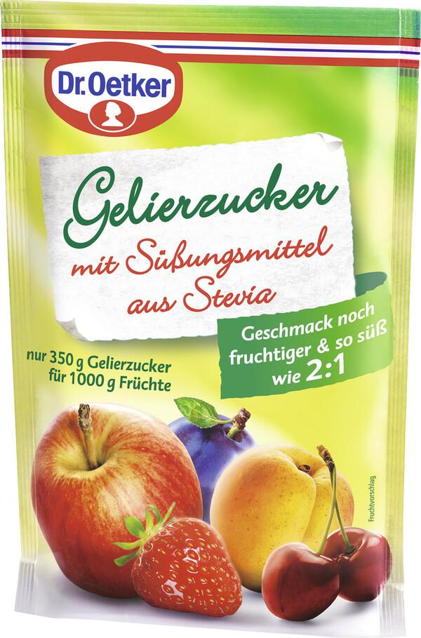 Dr.Oetker Gelierzucker mit Süßungsmittel aus Stevia 350 g
