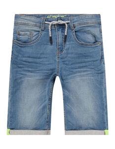 Jungen Jeansshorts mit Kordel