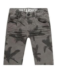 Jungen Shorts mit floralem Muster