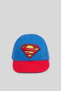 C&A Superman-Baby-Mütze, Rot, Größe: 74 cm