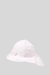 Baby-Mütze - gepunktet