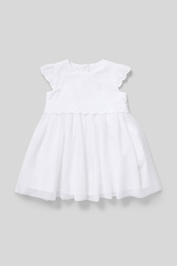 C&A Baby-Kleid-festlich, Weiß, Größe: 92 von C&A für 15,00