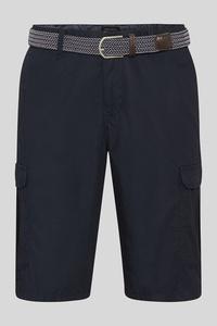 C&A Cargoshorts mit Gürtel, Blau, Größe: 42