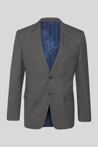 C&A Baukasten-Sakko-Regular Fit, Grau, Größe: 58
