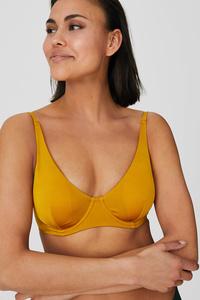 C&A Bikini-Top-wattiert, Metallisch, Größe: 85 B