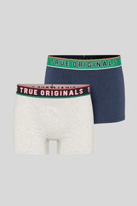 C&A Trunks-Bio-Baumwolle-2er Pack, Blau, Größe: M