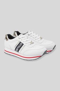 C&A Tom Tailor-Sneaker-Lederimitat, Weiß, Größe: 42