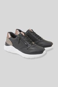 C&A Tom Tailor-Sneaker-Lederimitat, Blau, Größe: 42
