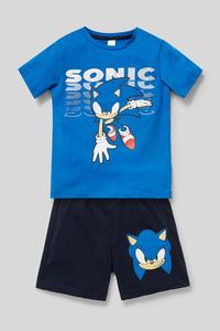 Sonic - Shorty-Pyjama - Bio-Baumwolle - 2 teilig