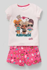 L.O.L. Surprise - Shorty-Pyjama - Bio-Baumwolle - 2 teilig