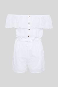 C&A Jumpsuit, Weiß, Größe: 152