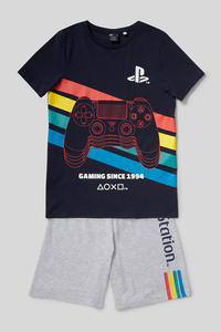 PlayStation - Shorty-Pyjama - Bio-Baumwolle - 2 teilig