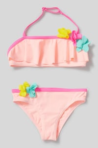 C&A Bikini-2 teilig, Rosa, Größe: 98/104