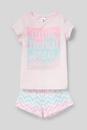 Bild 1 von C&A Shorty-Pyjama-Bio-Baumwolle-2 teilig, Rosa, Größe: 158