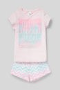 Bild 2 von C&A Shorty-Pyjama-Bio-Baumwolle-2 teilig, Rosa, Größe: 158
