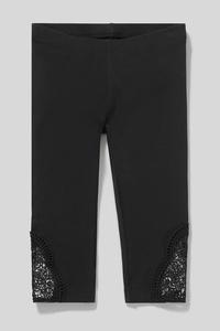 C&A Capri-Leggings-Bio-Baumwolle, Pink, Größe: 104