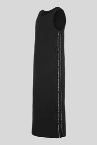 C&A Kleid-Bio-Baumwolle, Schwarz, Größe: 128
