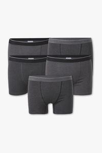 C&A Trunks-Bio-Baumwolle-5er Pack, Grau, Größe: S