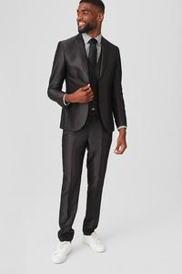 C&A Anzug-Slim Fit-4 teilig, Grau, Größe: 102